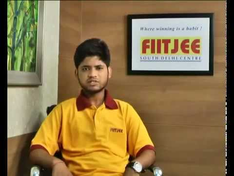 Arpit Agarwal IIT JEE 2012 Topper AIR 1 Interview [ FIIT JEE ]
