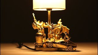 DIY - AWESOME DESK LAMP FROM KIDS TOYS