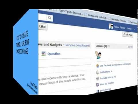 How to Create friendly url For Facebook Fan page