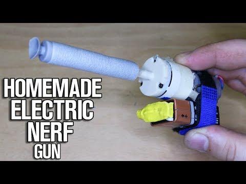Homemade Electric Nerf Gun!