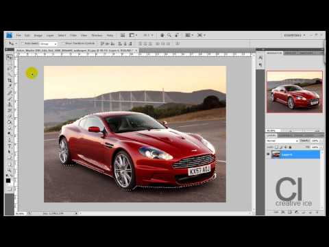 Photoshop CS4 - How to change vibrant colors on objects.