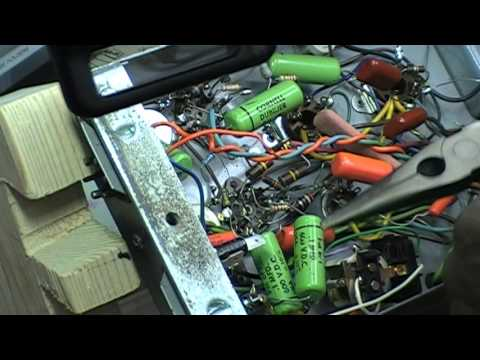 Replacing The Fuse Holder In A Leslie 251 Amplifier