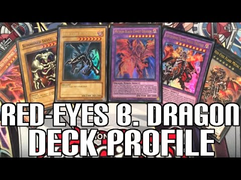 Yugioh Red-Eyes Black Dragon Deck Profile - New Invasion: Vengeance Support