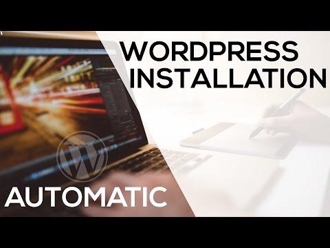 Automatic WordPress Installation using One-click Installer
