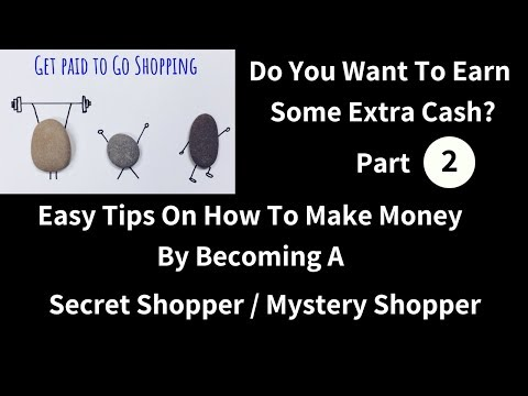 The Mystery Shopping Secret Shopper How To Guide Part 2