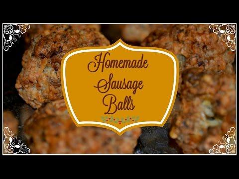 Homemade Sausage Balls~