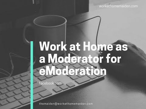 One Job Minute: Work Remotely as a Social Media Moderator for eModeration