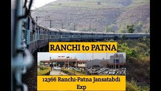 Ranchi station to Patna junction by JANSATABDI | Patna junction station in new look |