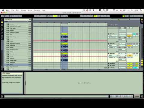 Ableton Tutorial - Tech Tip 22 - Voice Cancelling (Remove Vocal) Trick