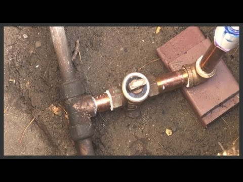 Stop & Waste valve replacement