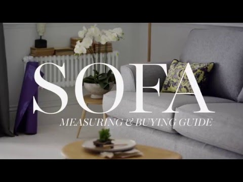 M&S Home: Sofa Measuring & Buying Guide