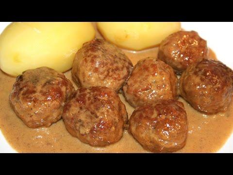 Swedish meatballs (köttbullar)