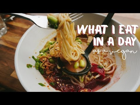 What I Eat In A Day #22//VEGAN + EASY
