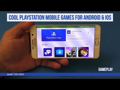 Cool PlayStation Mobile Games for Android & iOS