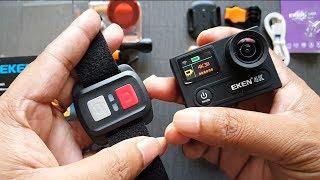 EKEN H8R Review, Unboxing- Dual Display 4K Waterproof Action Camera & Free Accessories in Bangladesh