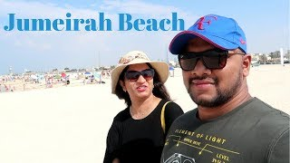 OUR BEACH DAY IN DUBAI   DUBAI VLOG   2017