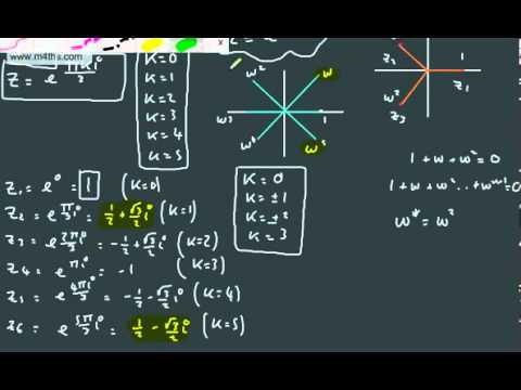 Further Pure 2 FP2 Complex Numbers 18   nth roots of unity