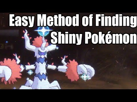 Pokémon X & Y - Easy Method of Finding Shiny Pokémon