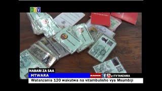 Watanzania 120 wakutwa na vitambulisho vya Msumbiji.