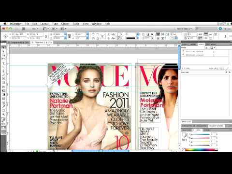 GEN109 InDesign Magazine Cover Part 2 of 2