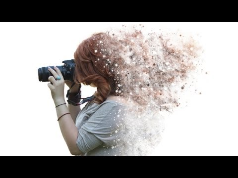 Tutorial Photoshop CS6 - Disintegration effect