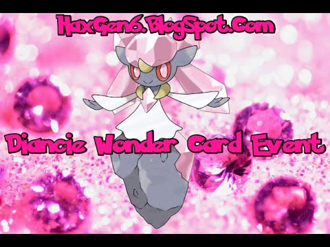 Diancie Event Returns To Power Saves 3ds