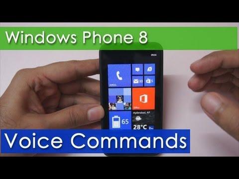 Voice Commands / Speech on Windows Phone 8