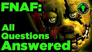 Game Theory: FNAF Mysteries SOLVED pt. 1
