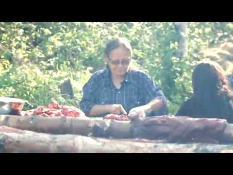Traditional Moose Meat Smoke