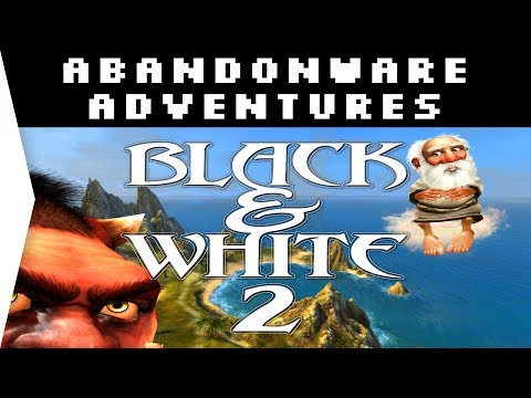 Black & White 2 ► God Game 2005! - Gameplay on Windows 10 - [Abandonware Adventures!]