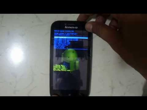Pattern lock And Hard Reset Lenovo A706 Eazy Youtube
