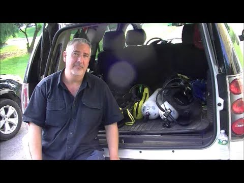Metal Detecting Scuba Diving - Equipment Used at 50+ Year Old Swim Spot