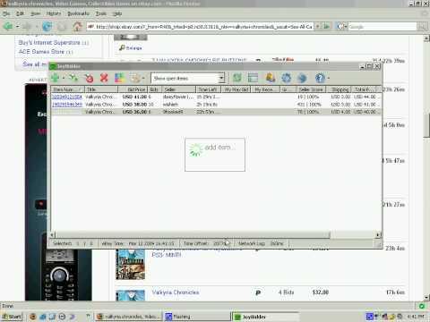 JoyBidder ebay auction sniper: bid group