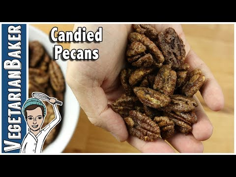 How To Make Candied Pecans! | Easy Holiday Recipe