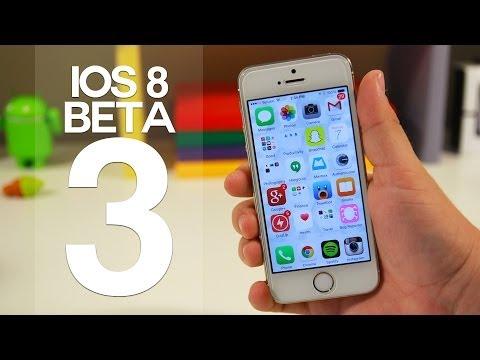 iOS 8 Beta 3 - New Features & Updates!