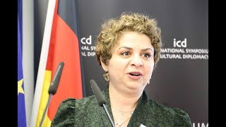 Yara Moualla (PhD researcher, ICD Academy of Cultural Diplomacy)