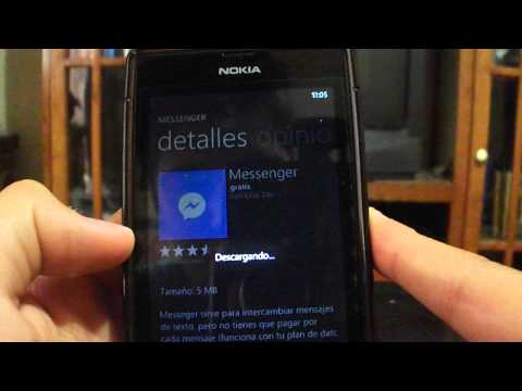 como instalar Messenger facebook (Windows Phone 8)