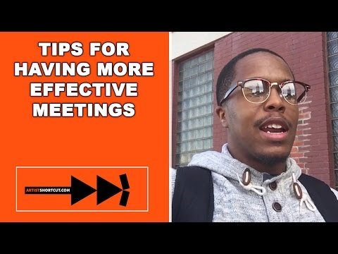 Tips For Having More Effective Meetings