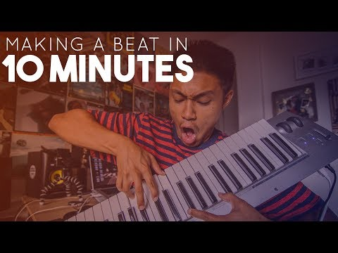 10 MINUTE BEAT MAKING CHALLENGE! | (Using Ableton Live)
