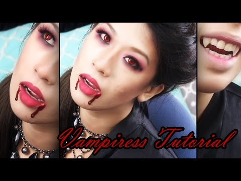 Vampiress Makeup Tutorial