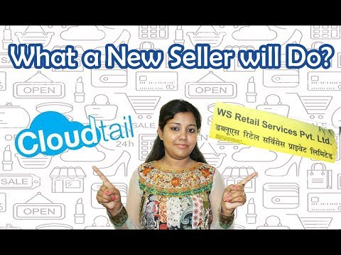 What is Cloudtail and WS retail? How new seller can deal with it?