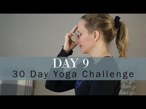 How Does Yoga Help with Anxiety | New Year 30 Day Yoga Challenge | Day 9