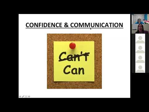 Confidence and Communication to grow your business!