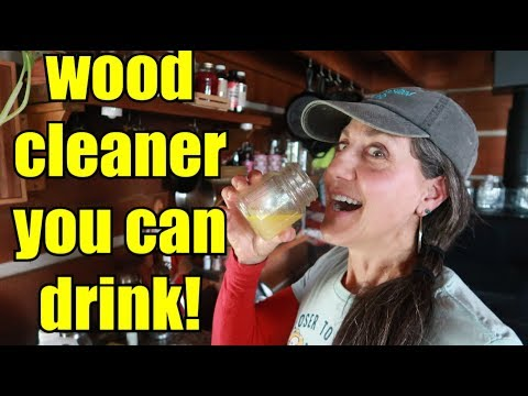 NON TOXIC CABINET CLEANER?!?  DIY || How to
