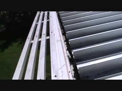 A great patio awning gutter tip