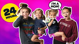 BECOMING PARENTS for 24 Hours Challenge with BABY TWINS **BAD IDEA** 👶 👶 | Piper Rockelle
