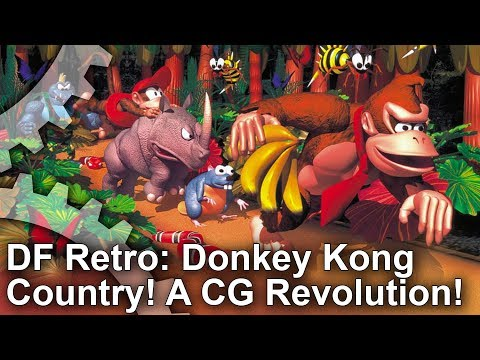 DF Retro: Donkey Kong Country + Killer Instinct - A 16-Bit CG Revolution!