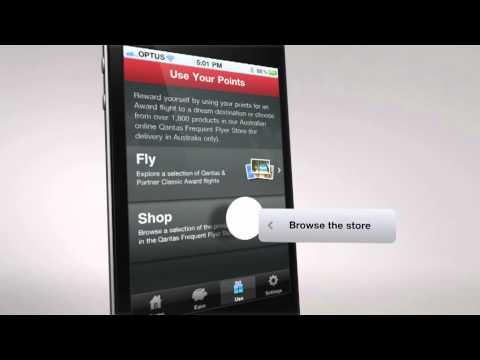 Qantas Frequent Flyer iPhone App