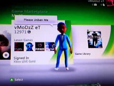 How To Unban Your Xbox Live Account 2012 March