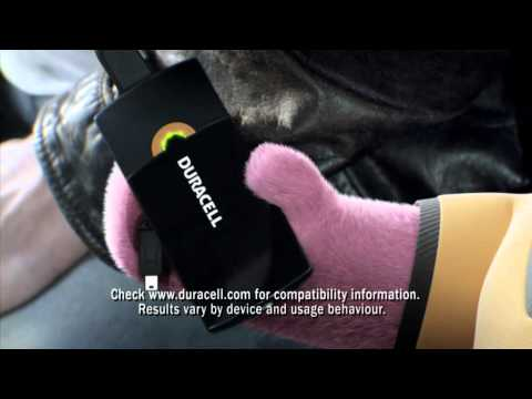 Duracell - 'Power On - portable charger advert'